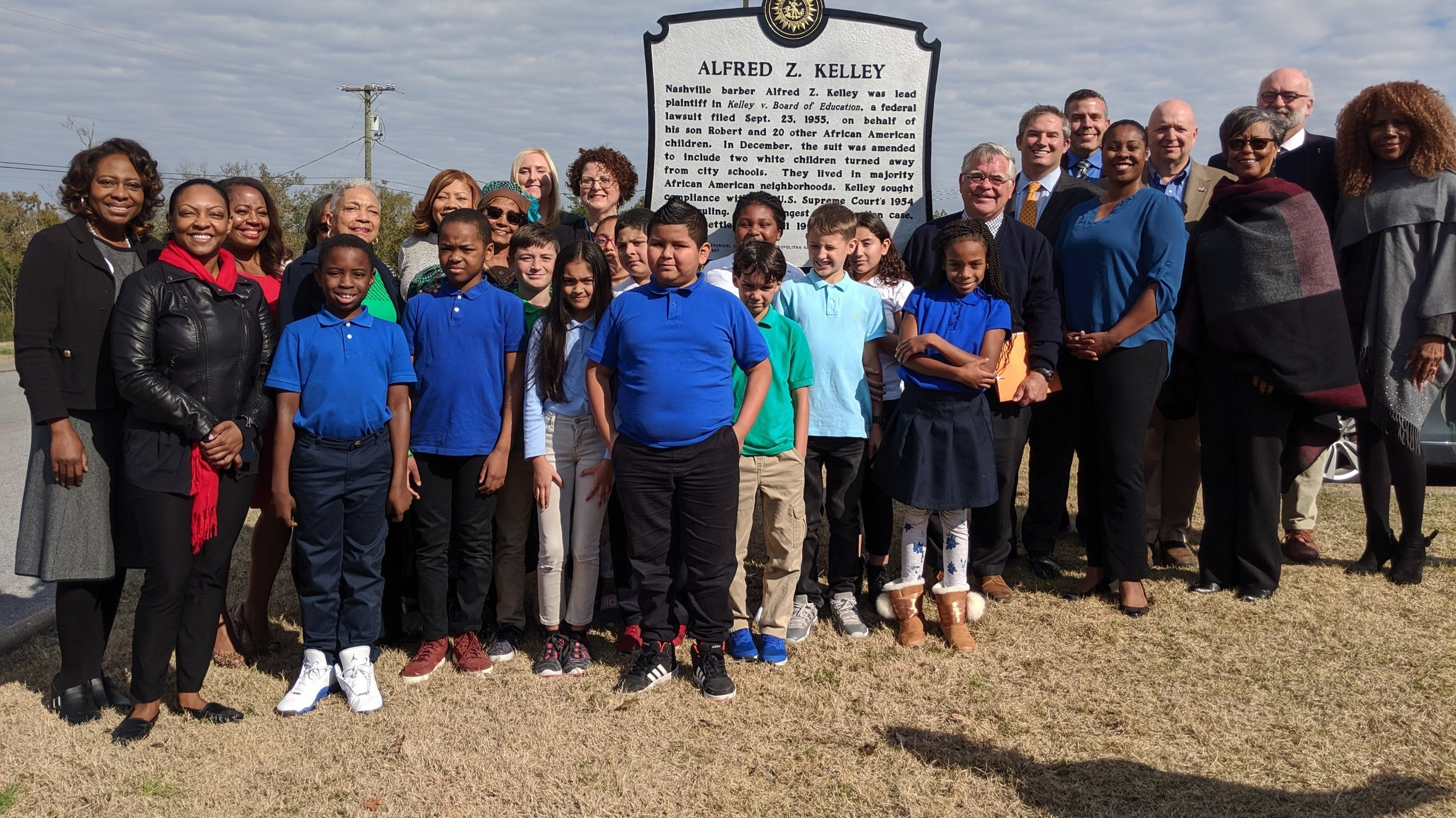 A.Z. Kelley Historical Marker Unveiled