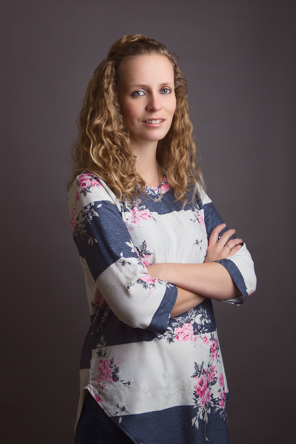 """Angela Visser from Lizzmedia photographed by Dennis Veldman during the first edition of """"Corporate Portrait Thursday"""""""