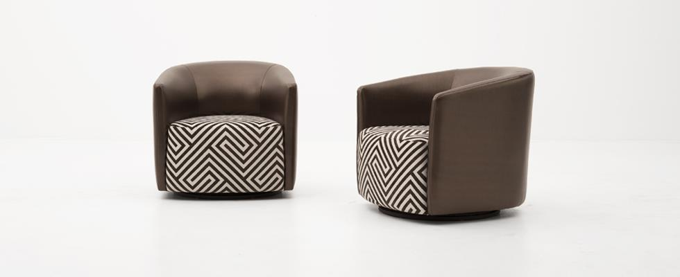 Mila Chairs by DellaRobbia