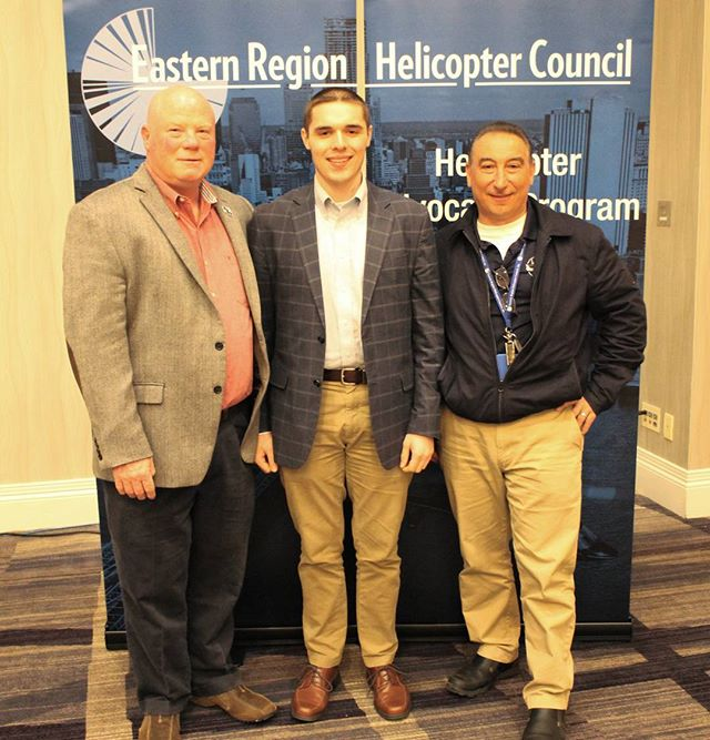 Our co-founder, Christian Tucci, attended the Eastern Region Helicopter Council's latest board meeting to give a presentation on integration of UAS in NY area airspace. As helicopter pilots as well, our team has a unique perspective on how UAS operations should be conducted around areas like New York City. We are looking forward to working closely with the ERHC to define and fine tune operational procedures. 🗽🗽🚁🚁 From left to right: Mike Philbin, ERHC Chairman, Christian Tucci, and Paul Tramontana, Air Tours Committee