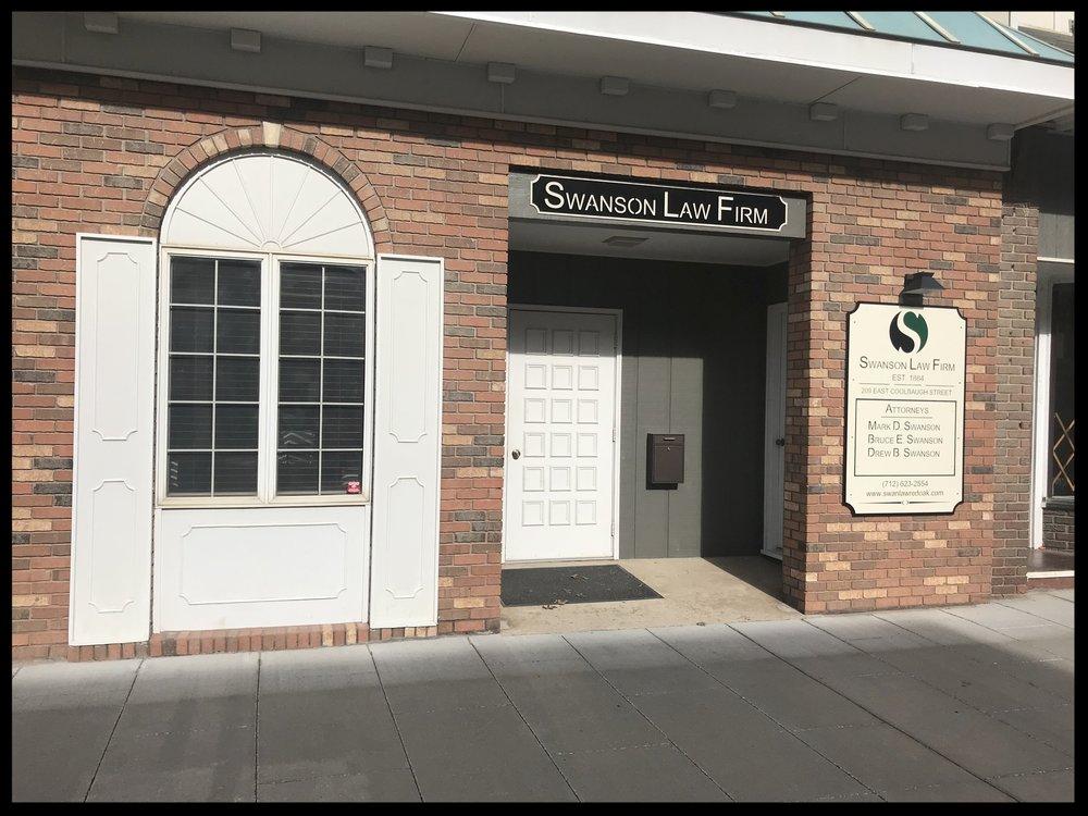 Swanson Law Firm, Red Oak location.
