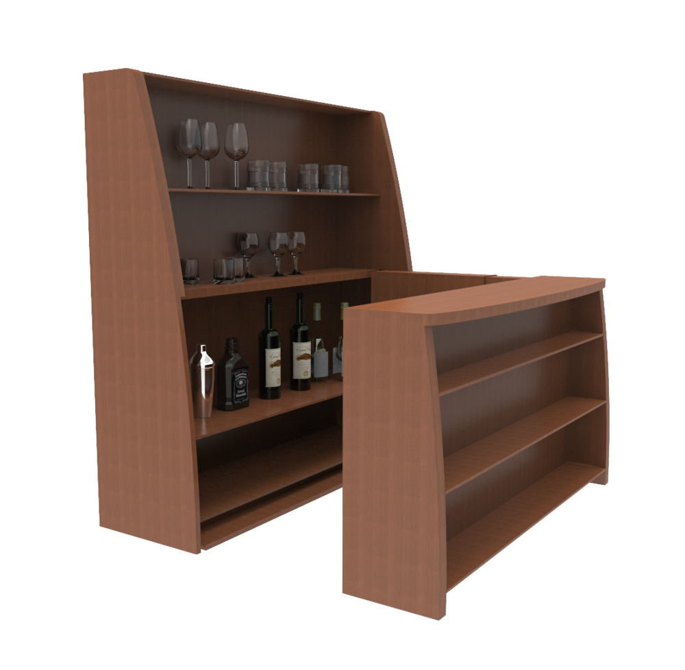 Motorized Design- Transforming Bar — TRANSFORMING DESIGNS INC.