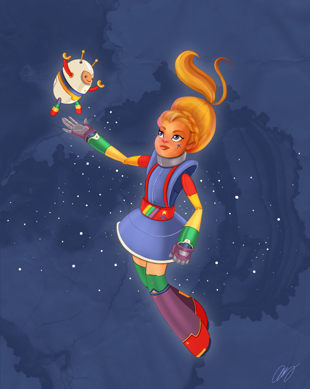 Rainbow Brite and Twink