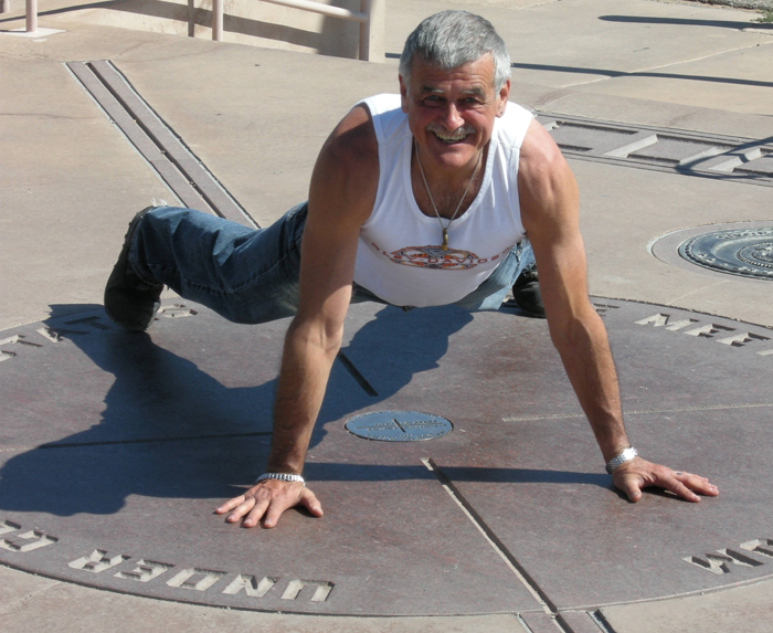 Pushups in Colorado, New Mexico, Arizona and Utah