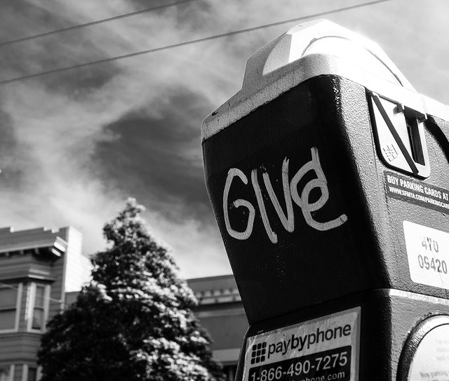 """ Give "" by  Ian Godfrey  /  CC BY-NC-ND 2.0"