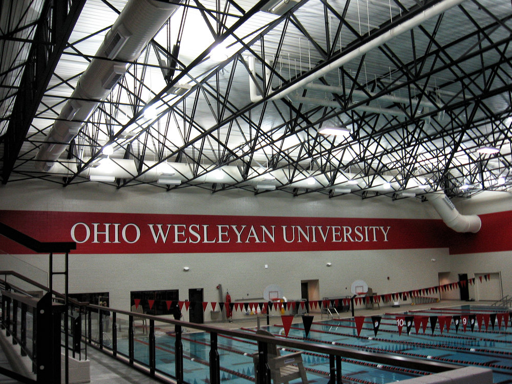 ohio weslyan meek aquatic and rec center (LEED)
