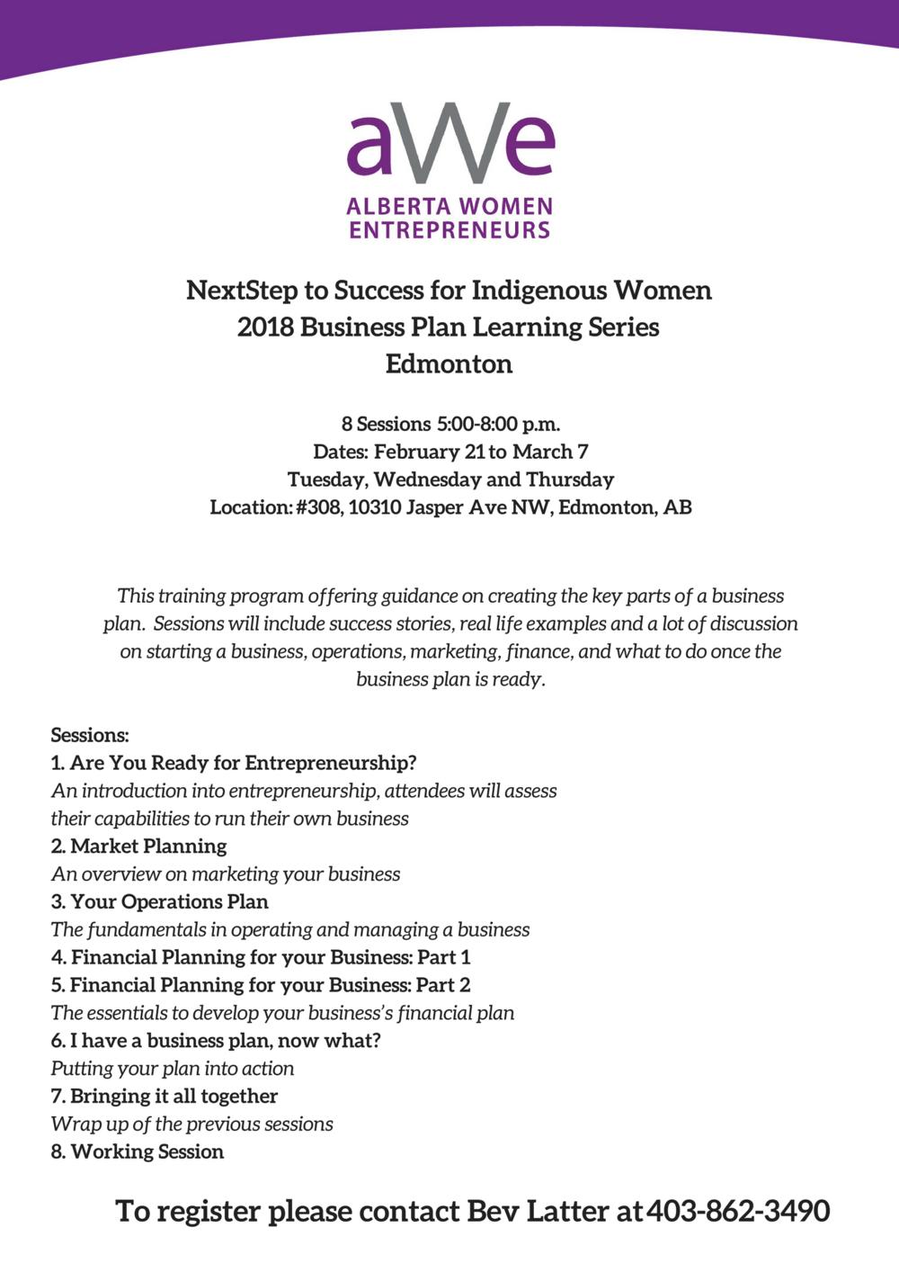 Business plan edmonton