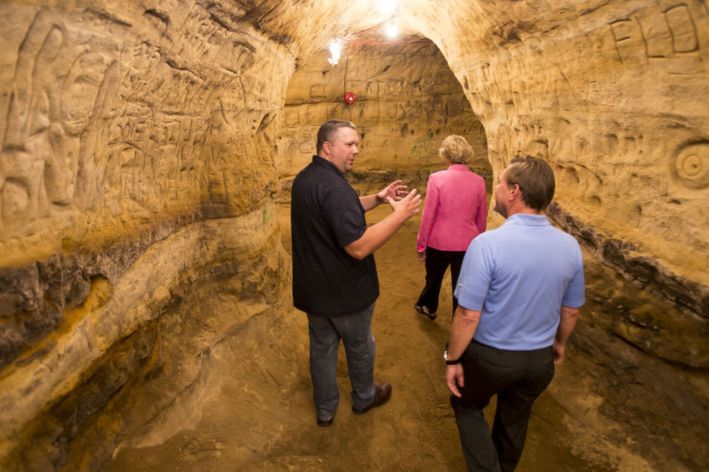 Blue Blood holds grand opening; Robber's Cave now open for public tours
