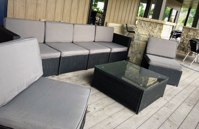 Reserve one of our two lounge seating areas for your special Occassions