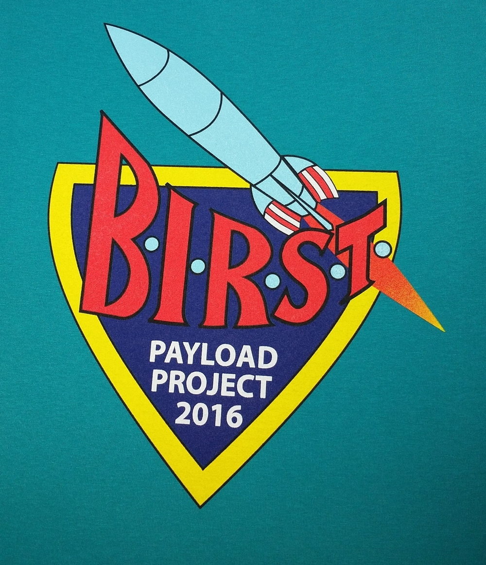 Shirts for Payload Project 2016