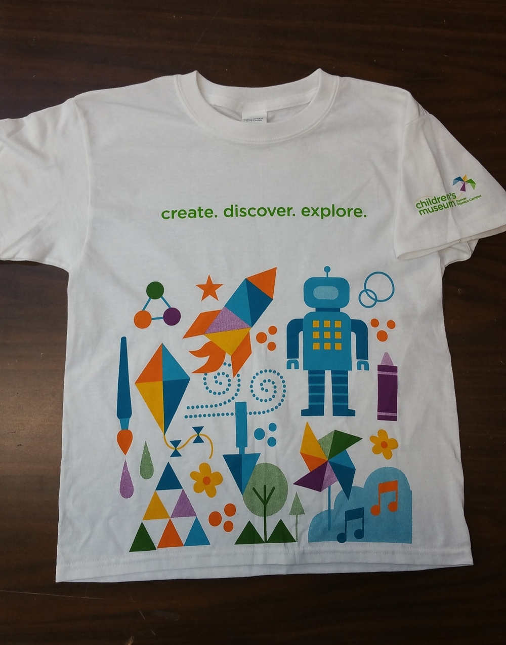 Six-Color shirt for Children's Museum