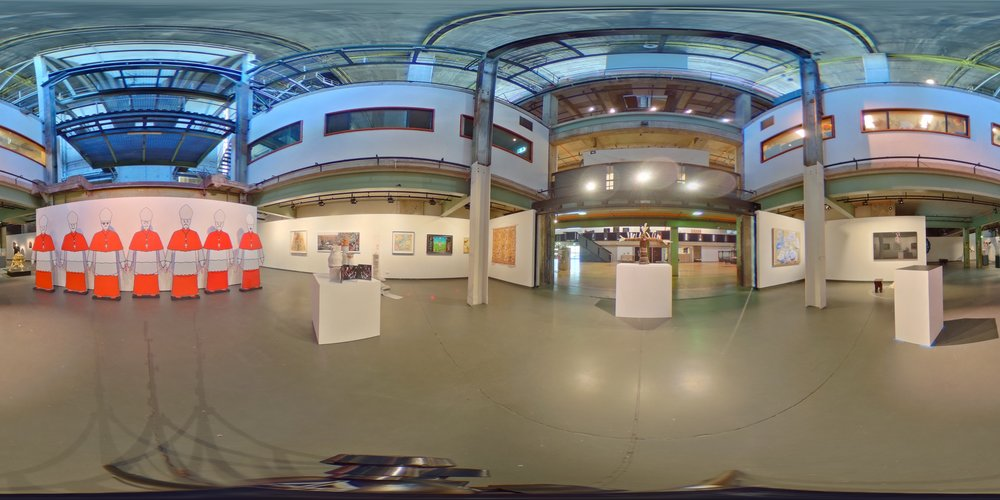 Cardinals Installation from The 2015 Blake Prize Finalists Exhibition Casula Powerhouse,Australia Click on Image to view in 360!