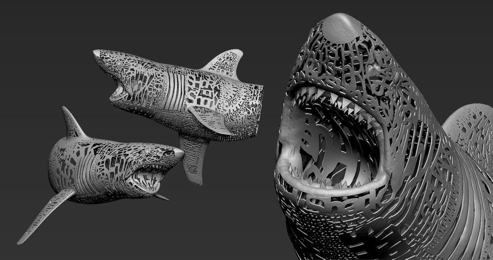Emptiness of Shark  (details)