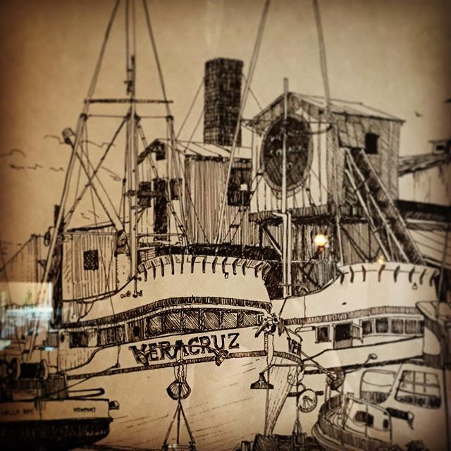 Some of the history of #fishhouseveracruz for this #tbt thanks for sharing in our history!! #fish #fishingboat #eatlocal #sandiego #northcountysd