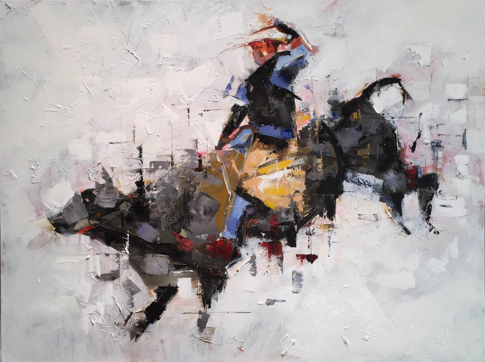 """Bull Rider No.1"""
