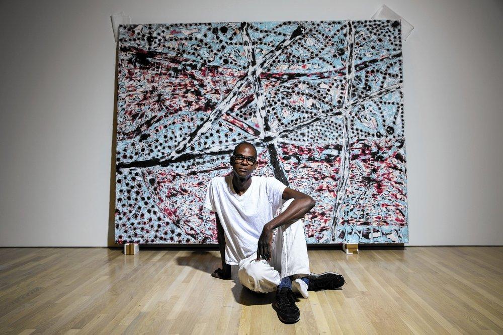 Artist Mark Bradford chosen for 2017 show in Venice.