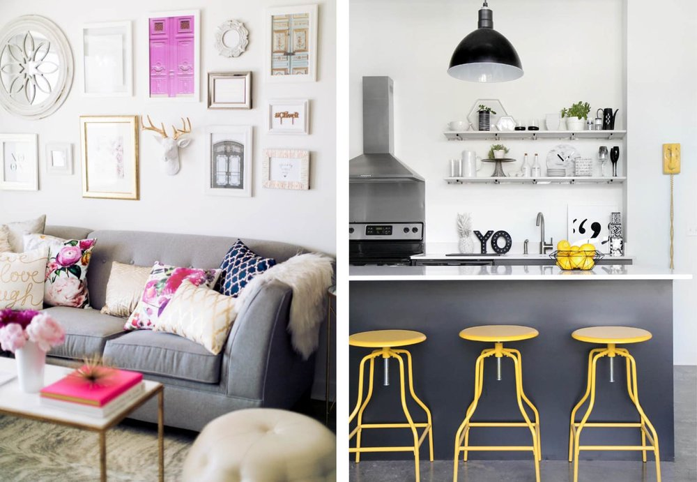 8 Baby Steps to Conquering Your Fear of Color on Apartment Therapy