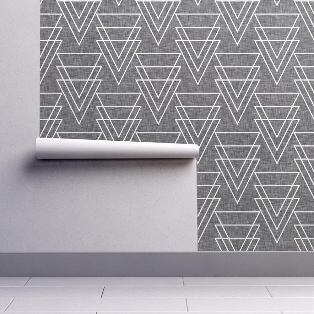 Geometric Arrow Linen by Holli_Zollinger