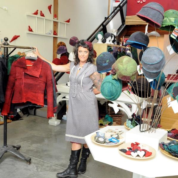 Jessica at Funk Shui Atelier on Granville Island