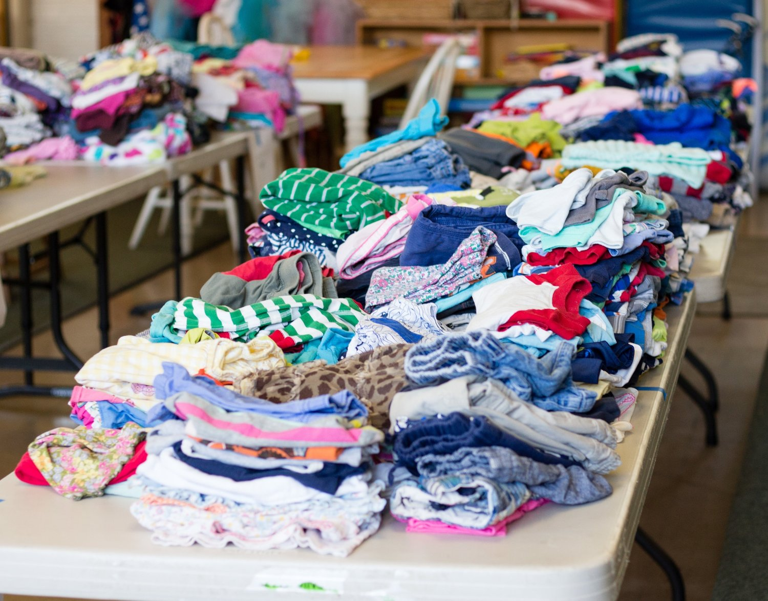 29f43bd0448 Do you have a growing pile of outgrown children s clothes in decent  condition  Now that the weather is changing