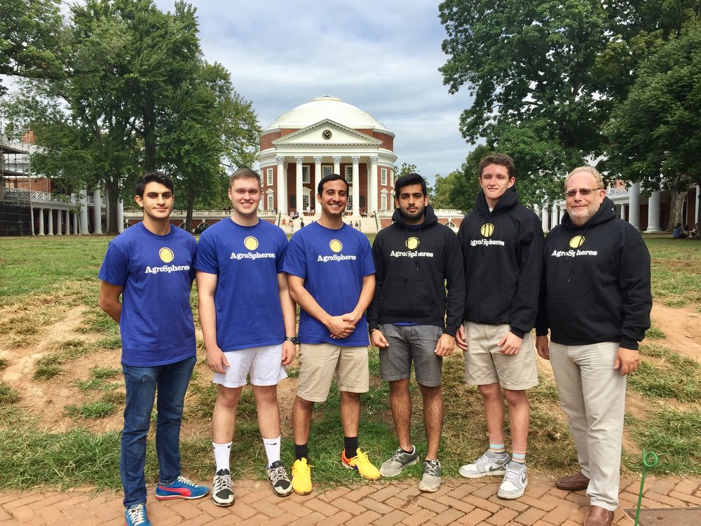 From left to right, Sepehr Zomorodi, Zachery Davis, Payam Pourtaheri, Ameer Shakeel, Joseph T. Frank, Mark Kester.