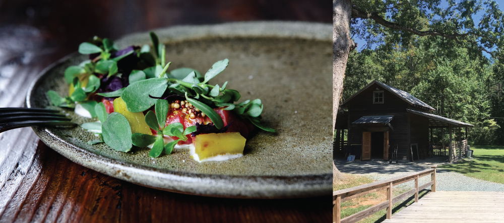 """Chef John May of Piedmont will participate in the """"Reanimating the Small Town South"""" panel at Rock Quarry Farm."""