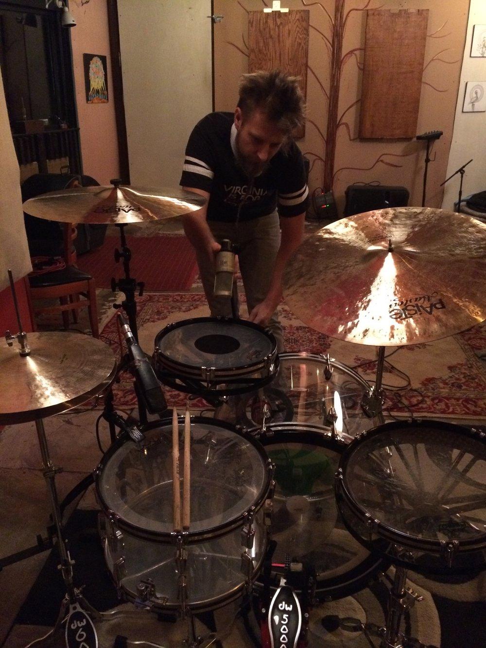 Lance Koehler recording drums by PJ Sykes.JPG