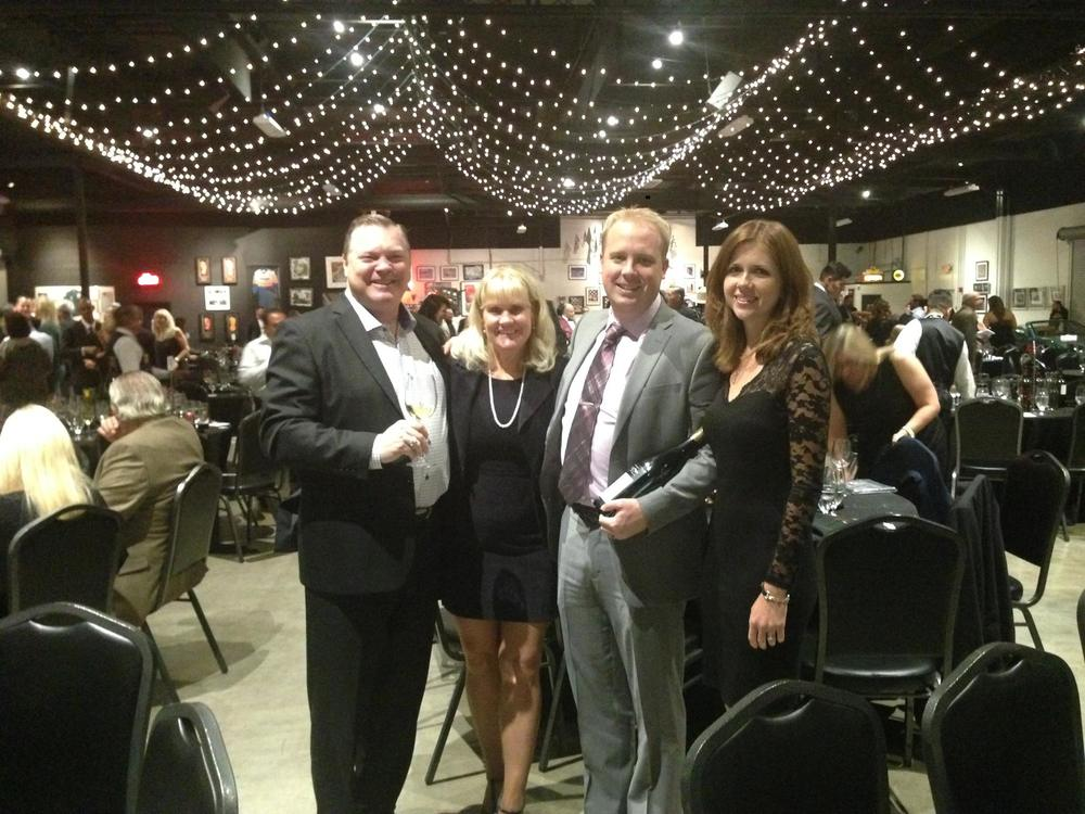 Lighthouse CEO, Jay Mills, and former COO, Dustin Steeve participate in Seneca's flagship annual charity dinner, Evening Under the Stars.