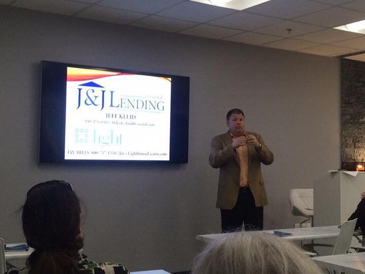 "Lighthouse makes it's training room available for rent to anyone who'd like to host classes. Here, book author and lender, Jeff Kleid, talks about his recently released book, ""The Cards You Are Dealt."""
