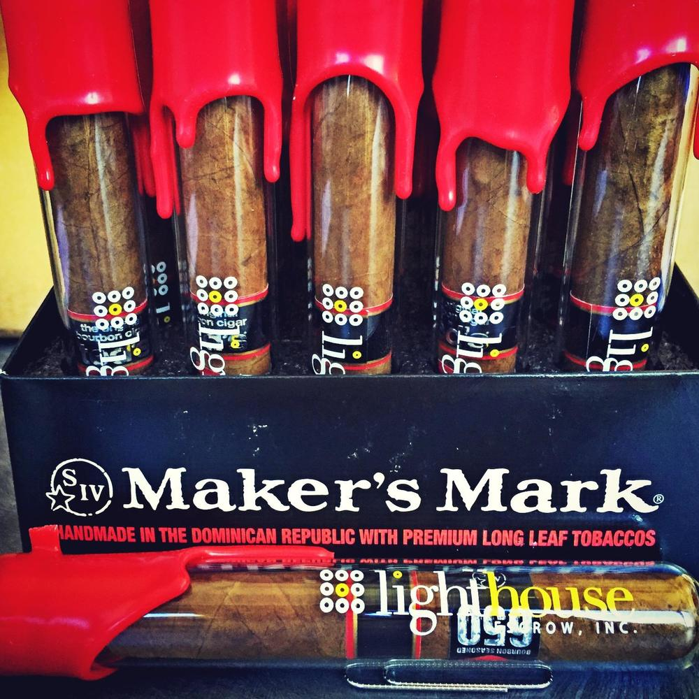 We enjoy the occasional cigar, especially these bourbon dipped beauties.