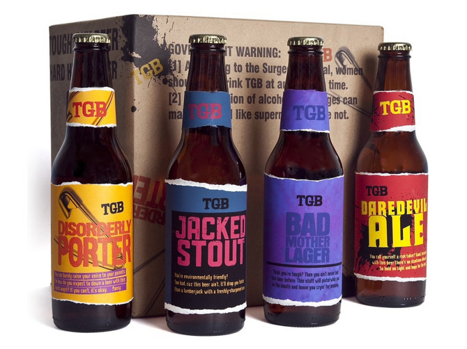 Tough Guy Beer 12 pack