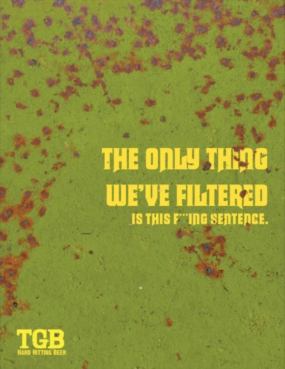 TGB - Not Filtered