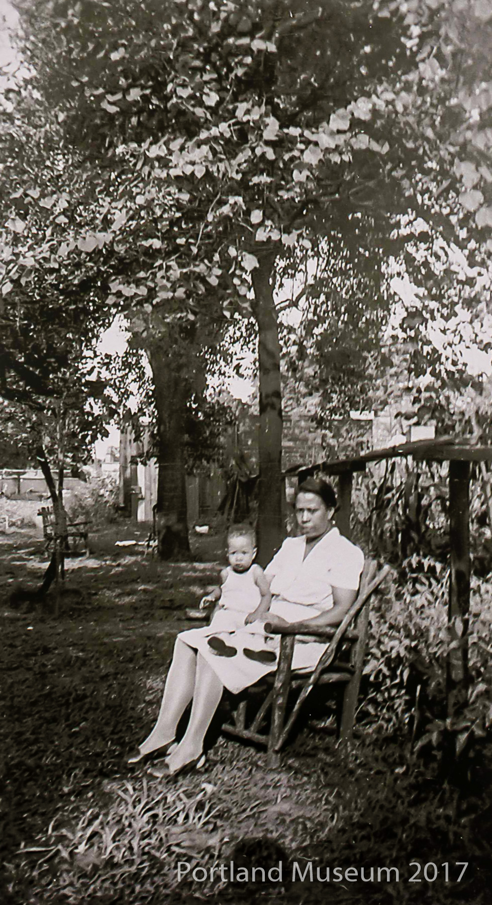 Gladys Harris Depp and Son at 541 N. 37th