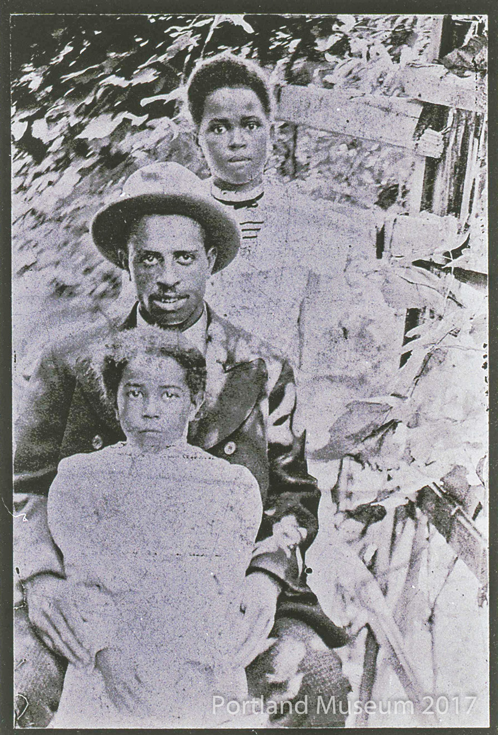 "Eugene Harris & Margaret ""Maggie"" and Cousin ""Tillie Bell"""