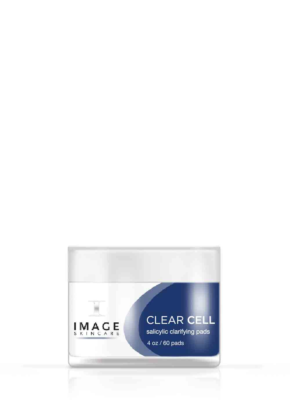 CLEAR CELL salicylic clarifying pads disques nettoyants à l'acide salicylique