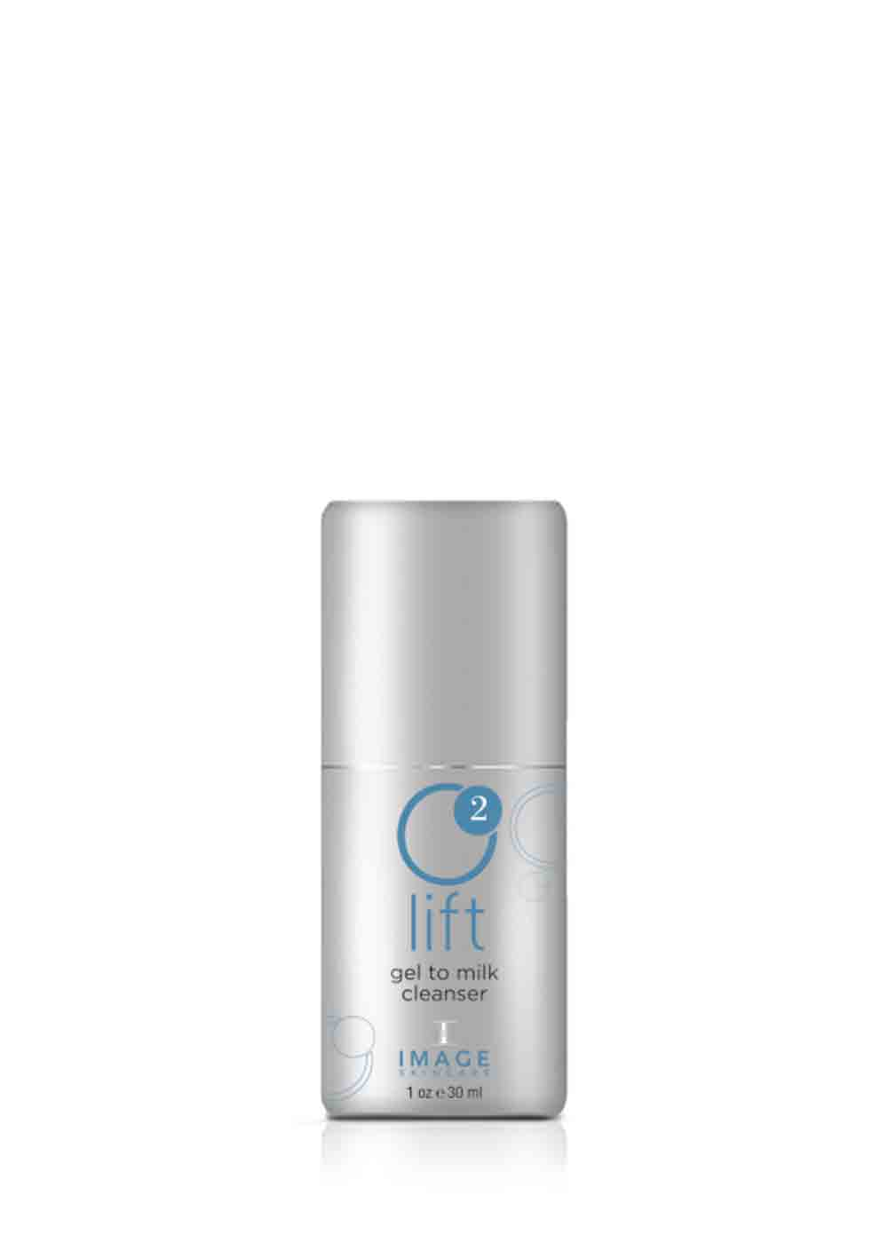 O2 LIFT    gel to milk cleanser