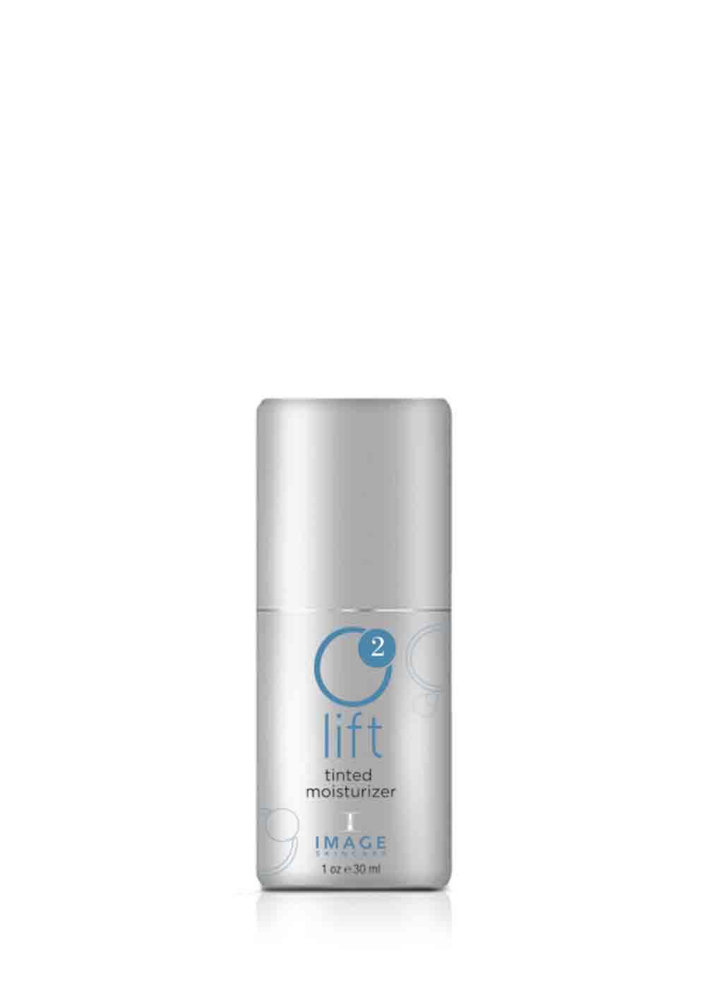 O2 LIFT tinted moisturizer einté hydratant