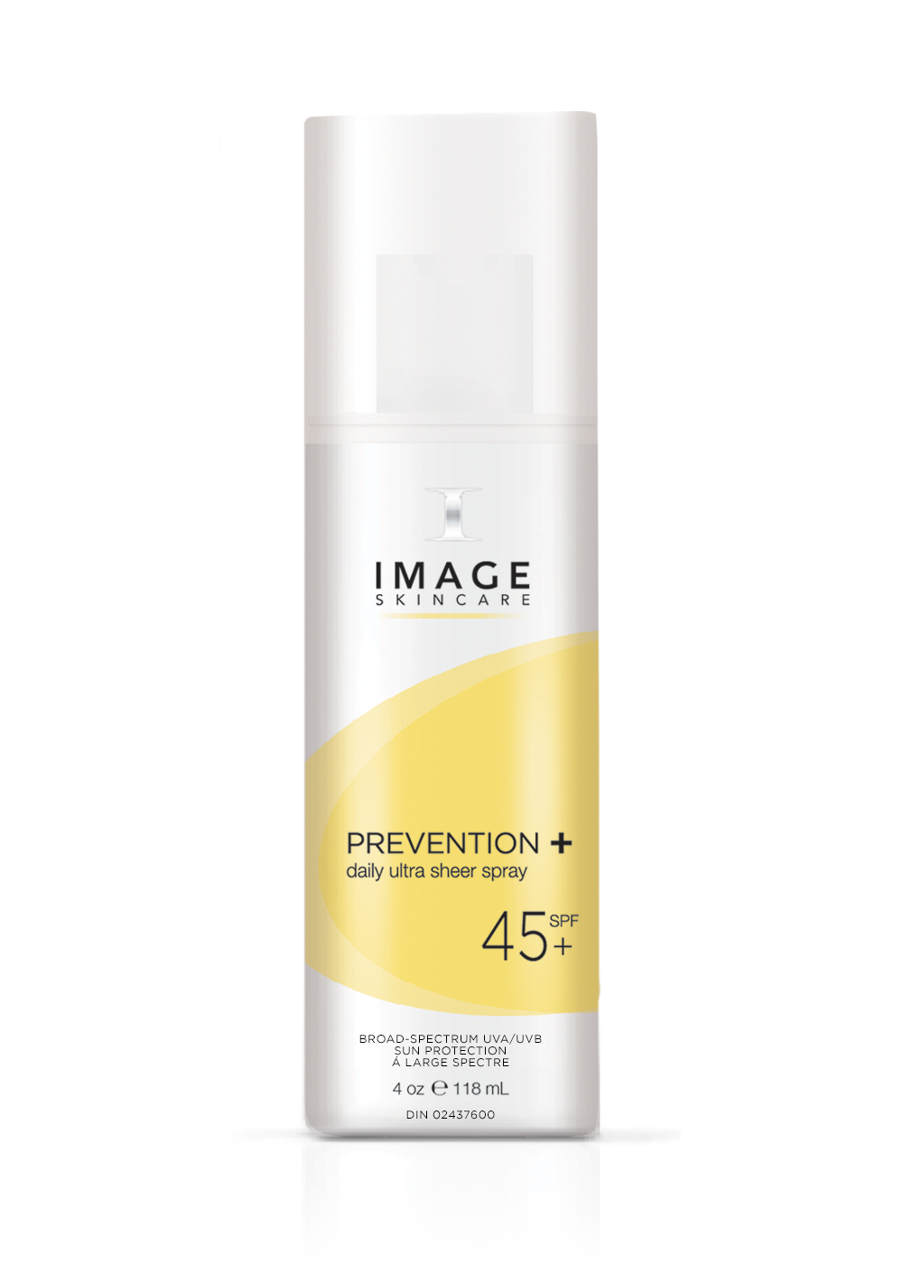 PREVENTION+    daily ultra sheer spray spf 45 á large spectre