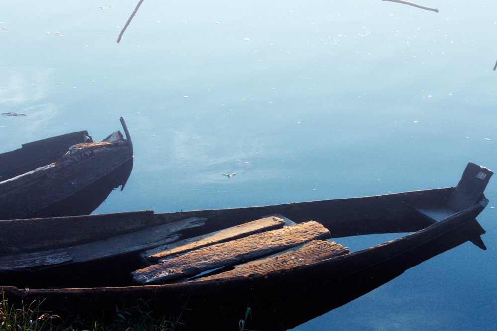 Retired Canoe - Jinja Uganda