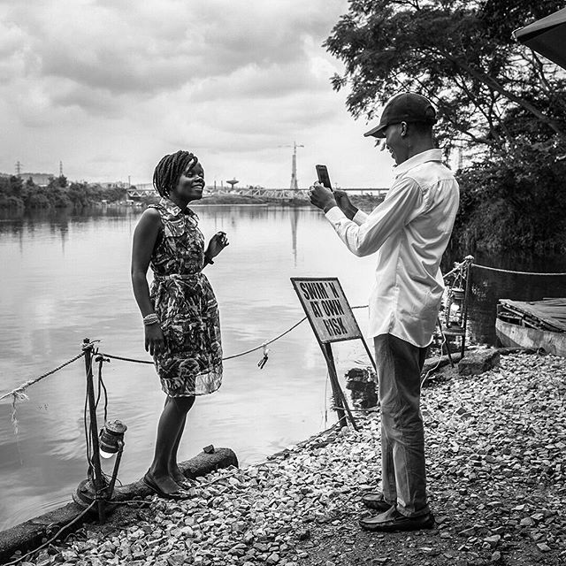 Couple on the Nile. #jinja #uganda #uganda🇺🇬 #kampala
