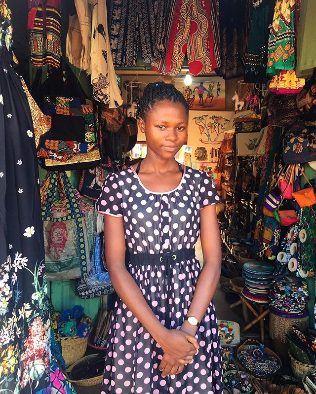 Elizabeth runs a crafts and souvenir shop in Jinja town. She makes a lot of the crafts inside the shop. #jinja #uganda #kampala #uganda🇺🇬 #eastafrica #ugandan