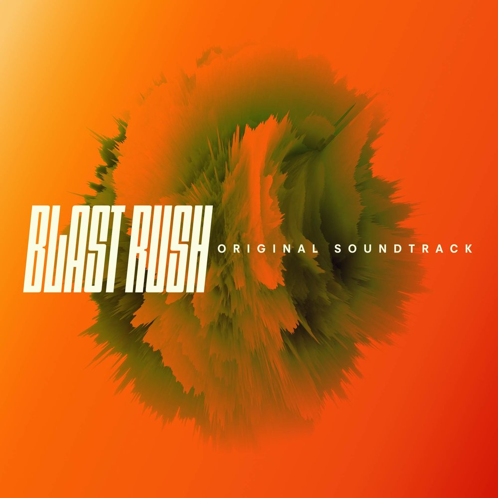 BLAST RUSH ORIGINAL SOUNDTRACK - Seven tracks of FM and synthwave excellence from composer Felicia