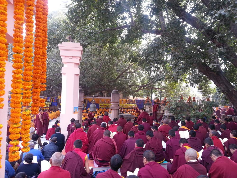 Bodh-Gaya Buddhist Puja