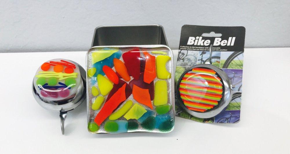 Bike Bells & Silver Box