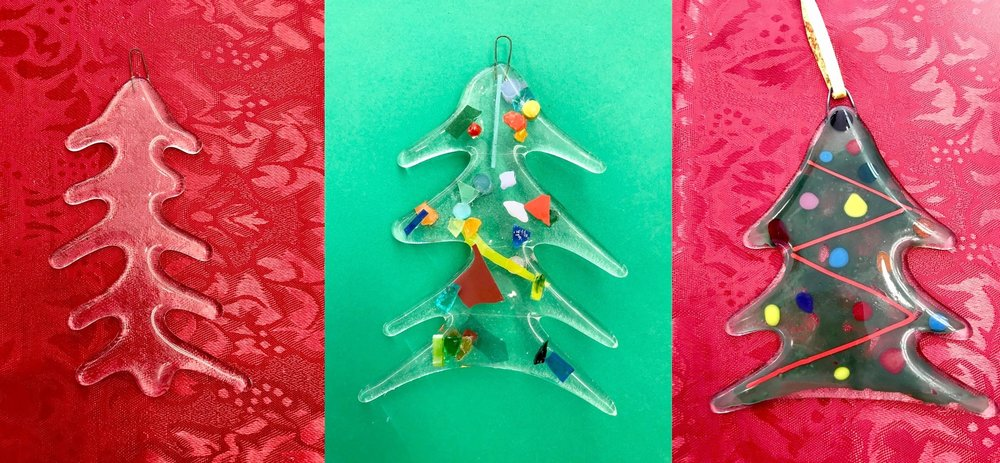 With Suncatchers & Ornaments, you choose a shape, decorate and we do the rest!