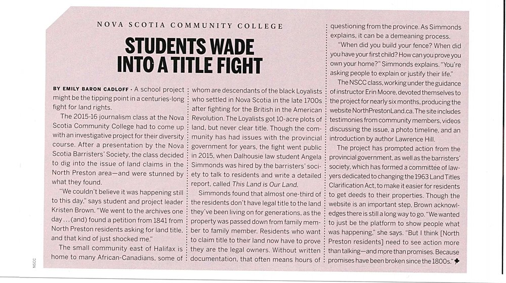 Story for Maclean's College Guide. Dec, 2016