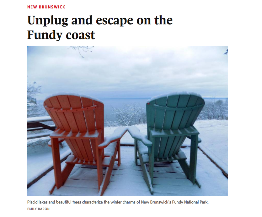 Feature for the Globe and Mail, Travel section. Feb. 02, 2017