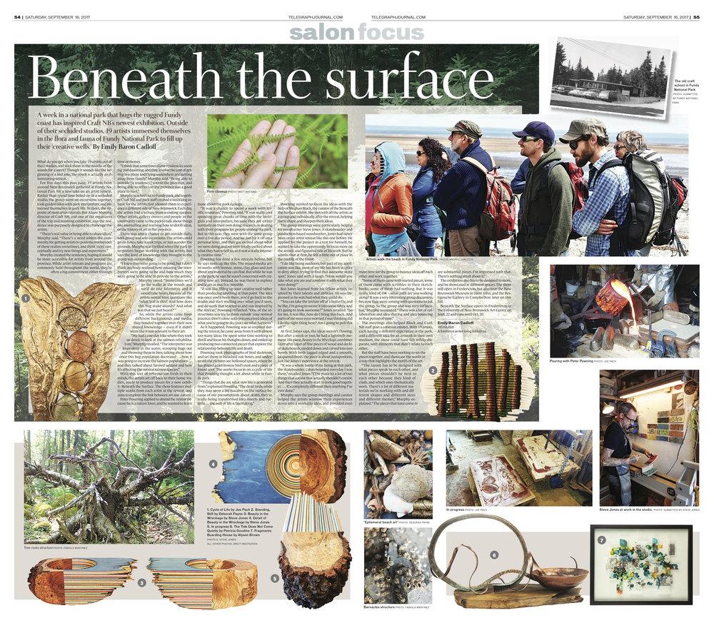 Feature for New Brunswick Telegraph-Journal, Sept. 16, 2017