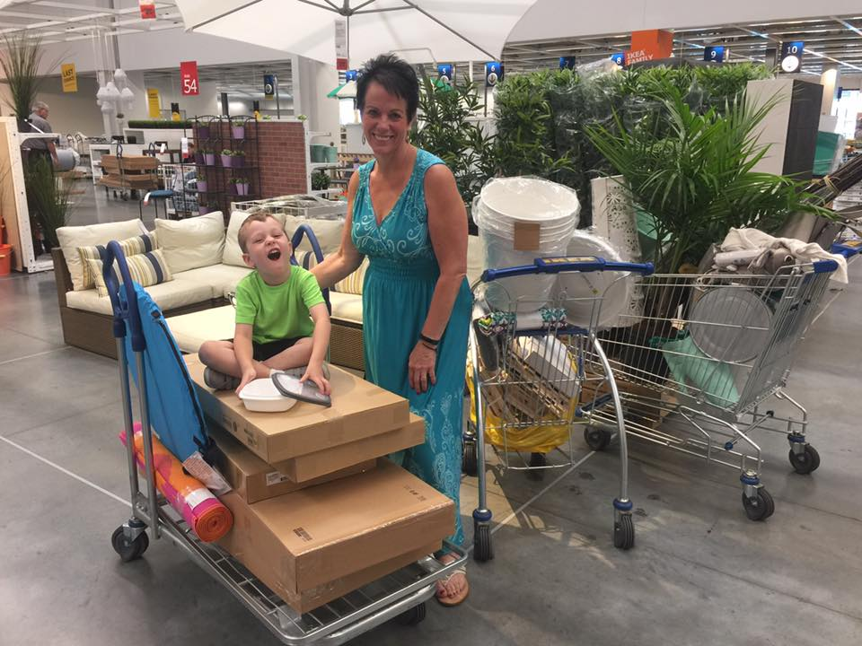 My Mom and I will take any opportunity to go to Ikea. Even my kid loves Ikea.