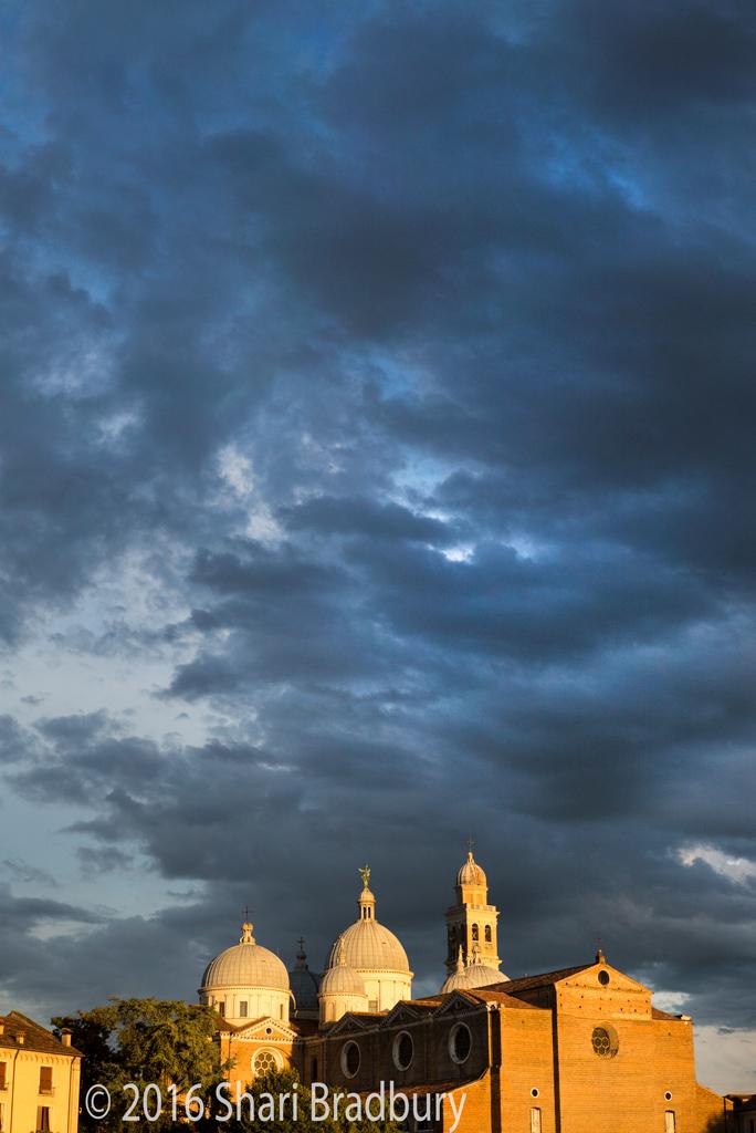 The Basilica of St. Giustina.